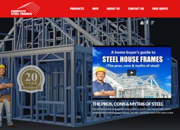 Complete Steel Frames