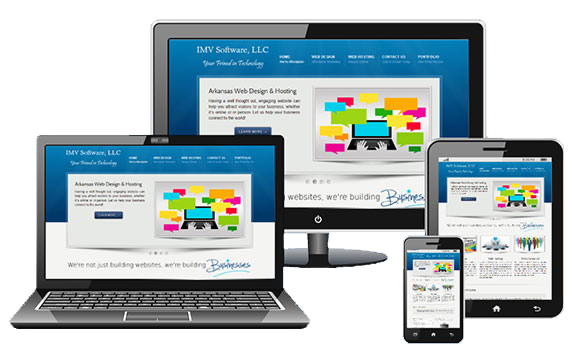 We build mobile responsive websites.